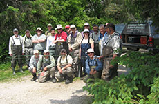 Group guided trips